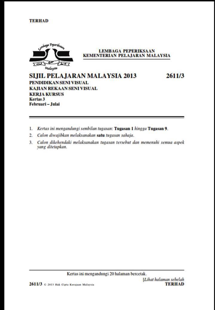 05/02/2013 pada 1:54 pm( Kertas 3 - 2611/3 )