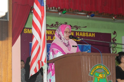Ucapan Terakhir Sebagai Pengetua 29 Januari 2014, di SMKTPH